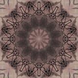Seamless pattern checkered geometrical ornament retro design Stock Photography