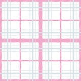 Seamless pattern with checkered tablecloth ornament. Pastel colors tartan vector background. stock illustration