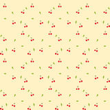 Seamless pattern - Cherry Royalty Free Stock Photography