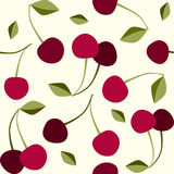 Seamless pattern cherry Royalty Free Stock Image