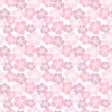 Seamless pattern with cherry blossom. vector illustration