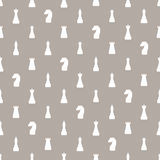 Seamless pattern of chess Stock Photos