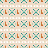 Seamless pattern of chess Royalty Free Stock Photo