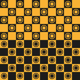 Seamless pattern Chessboard. Abstract background of a chessboard. Seamless pattern, vector illustration Royalty Free Stock Image