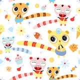 Seamless pattern for children Stock Images