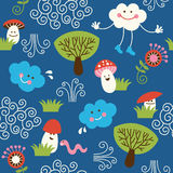 Seamless pattern, children design Stock Photo