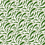 Seamless pattern with chili peppers royalty free illustration