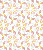Seamless pattern with chocolate icecream and candy Royalty Free Stock Photography