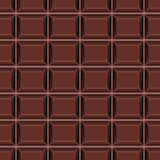 Seamless pattern with chocolate texture Stock Photography