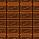 Seamless pattern with chocolate texture-8 Stock Photography