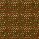 Seamless pattern chocolate and vines stock photos