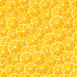 Seamless pattern chopped lemon Royalty Free Stock Images