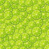 Seamless pattern chopped lime Royalty Free Stock Images