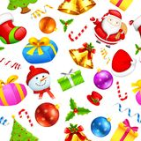 Seamless Pattern Christmas background Royalty Free Stock Image