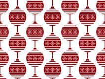 Seamless pattern with Christmas balls. Used for  wrap, textile, paper. Merry Christmas and Happy New Year Royalty Free Stock Image