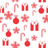 Seamless pattern for Christmas design Royalty Free Stock Images