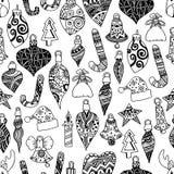 Seamless pattern christmas Stock Image