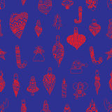 Seamless pattern christmas Stock Images