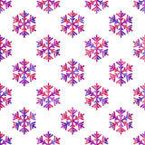 Seamless pattern  for Christmas and New Year Stock Photography