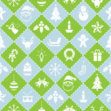 Seamless Pattern : Christmas Objects Royalty Free Stock Image