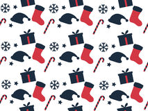 Seamless pattern. Christmas pattern. Festive pattern for wrapping paper. Vector illustration Royalty Free Stock Images