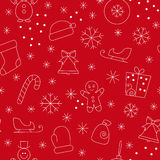 Seamless pattern christmas Royalty Free Stock Images