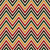 Seamless pattern in Christmas traditional colors. Chevron bright colors diagonal lines abstract background. Can be used for digital paper, textile print, page stock illustration