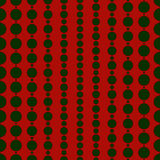 Seamless pattern in Christmas traditional colors. Xmas background with festive hanging garland beads. Royalty Free Stock Photos