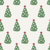 Seamless Pattern. Christmas Tree. Background Design Stock Photography