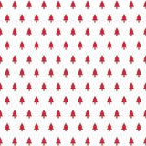 Seamless pattern with Christmas trees. Royalty Free Stock Image