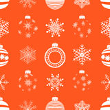 Seamless pattern christmas. vector. Stock Photo