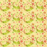 Seamless pattern christmas, wrapping paper for Royalty Free Stock Images