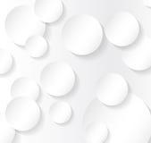 Seamless Pattern. Circle Abstract Art Background. Vector Illustr Stock Image