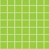 Seamless pattern circle rectangle tablecloth Stock Photos