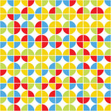 Seamless pattern of circles Royalty Free Stock Photography