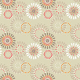 Seamless pattern with circles background Stock Images