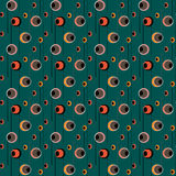Seamless pattern with circles background Stock Photo