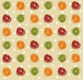 Seamless pattern with circles and dots Stock Image