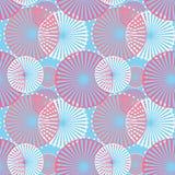 Seamless pattern circles ornamental background Stock Image