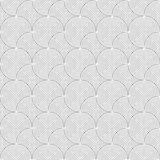 Seamless pattern with circles. Repeating modern Stock Photos