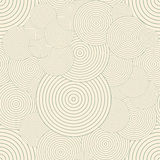 Seamless pattern with circles. Repeating modern Stock Photo