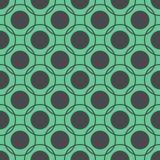 Seamless pattern of circles Stock Photography