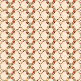 Seamless pattern of circles retro palette Royalty Free Stock Photos