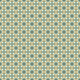 Seamless pattern with circles, squares and dots Royalty Free Stock Photo