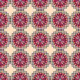 Seamless  Pattern with circles Stock Photos