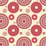 Seamless pattern with circles Royalty Free Stock Photography