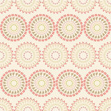 Seamless pattern of circular elements Royalty Free Stock Photography