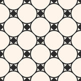 Seamless pattern, circular grid, thin curved lines Stock Photography