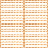 Seamless pattern with citrus pulp vector illustration