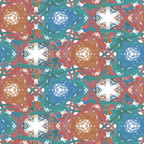 Seamless pattern with clipping path Royalty Free Stock Images